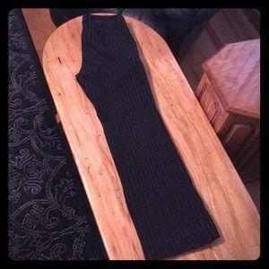 GAP pinstripe dress pants